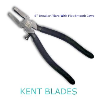 "8"" Breaker Pliers, Smooth Flat Jaws"
