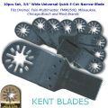 "KENT 10 x 3/4"" Wide FastCut Blade For Soft: Wood, Metal, Plastic, Fits Dremel"