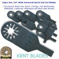"KENT 10 x 3/8"" Wide FastCut Blade For Soft: Wood, Metal, Plastic, Fits Dremel"
