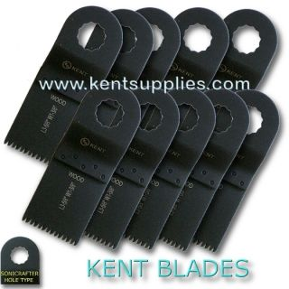 10 Oscillating Japan Teeth Blades Fits Sonicrafter Worx