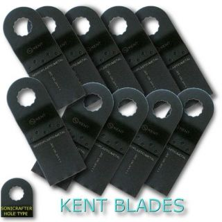 "10pcs 1-3/8"" ECut Blades For Metal Fit Sonicrafter Worx"