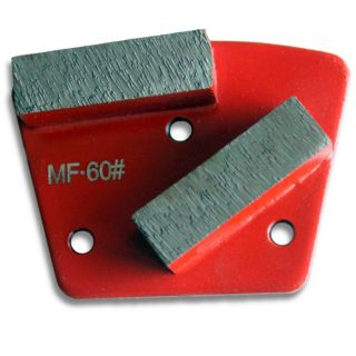 METAL BOND GRIT 60 CONCRETE HEAD FOR FLOOR GRINDING, POLISHING, HTC STYLE SHOES Screw Mount