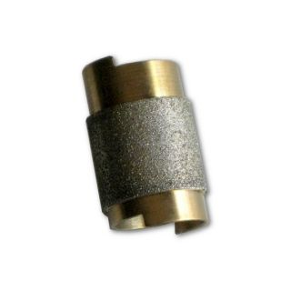"3/4"" Diameter Slip On Standard Grinder Bit, Diamond Coated Copper Bit"