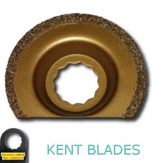 Half Round Carbide Oscillating Blade Fits Fein Supercut