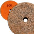 4 inch Kent Grit 300 Diamond Sponge Fiber Pad for Marble Floors
