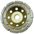 "KENT Economy Quality 5"" Grit 70~80 Double Row Diamond Grinding Wheel, 7/8"" Arbor"