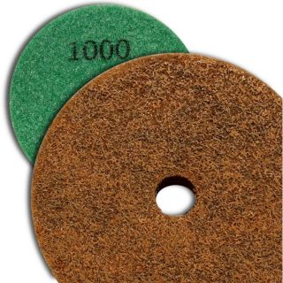 4 inch Kent Grit 1000 Diamond Sponge Fiber Pad for Marble Floors