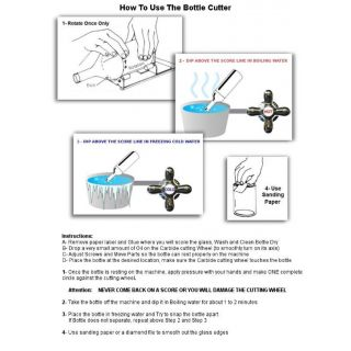 Long Bottle Cutter Instructions