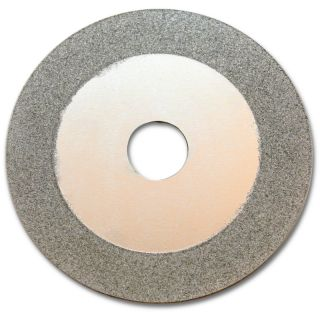 "KENT 100mm (4"") Continuous Diamond Coated Cut-Off and Grinding Wheel For Glass, Gem Stones, Ceramics"