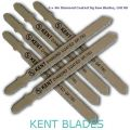 "6 Pack 4"" T-Shank Diamond Coated Jig Saw Blades Grit 80"