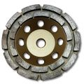 KENT 5-inch Diamond Cup Grinding Wheel, Double Row, Grit 70~80, Economy Quality