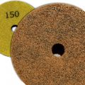 4 inch Kent Grit 150 Diamond Sponge Fiber Pad for Marble Floors