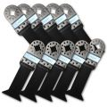 10pcs Set, Long Reach Flush Cut Oscillating Saw Blades Fits Fein Multimaster, Bosch, SECCO, Multi tool