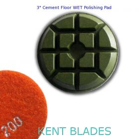 "3"" (80mm) Grit 200, Floor Polishing Pad, Wet Use"