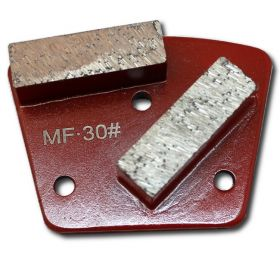 Grit 30 Concrete Head For Floor Grinding, Polishing HTC Style Shoes Screw Mount