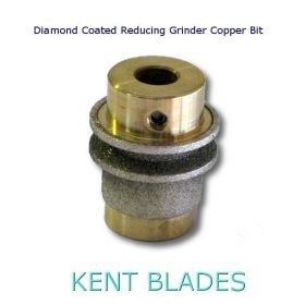 Diamond Coated Reducing Grinder Copper Bit Fits Most Brands