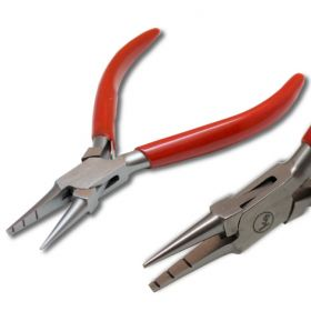 "5.11"" (130mm) Specialty Combination Pliers with Grooved Jaw and Round Jaw"