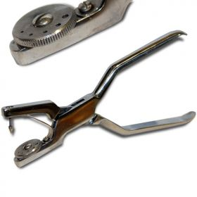 5 Holes Rotary Hand Punch For Lightweight Leather