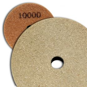 4 inch Kent Grit 10000 Diamond Sponge Fiber Pad for Marble Floors